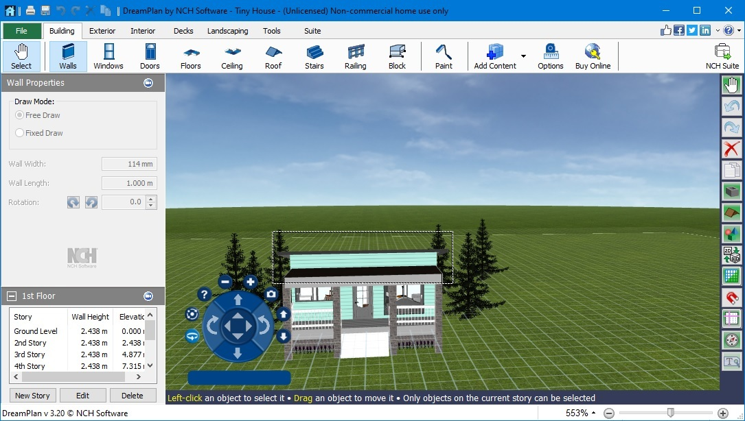 DreamPlan Home Design Software Plus 3.20
