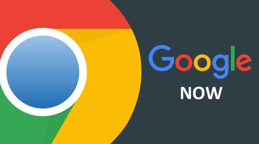 Google Now доступна в браузере Chrome для Windows